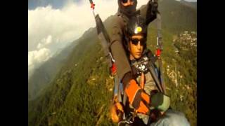Paragliding in Bir Billing Himachal Pradesh take off to landing full video