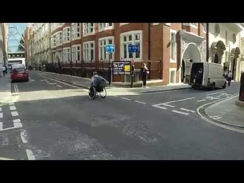 Race The Tube - In a Wheelchair