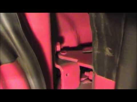 Door hinge pin amp bushing repair ford mustang 94 04 youtube