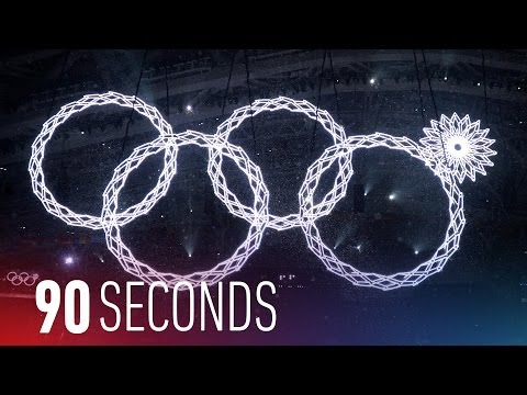 Sochi Olympics opening ceremony fail: 90 Seconds on The Verge