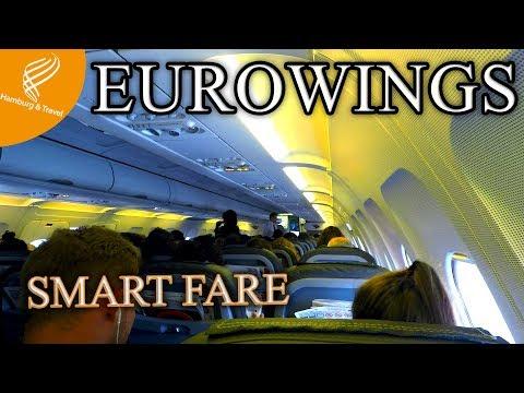 "TRIPREPORT EUROWINGS SMART A320 ""Europa Park"" Livery | Düsseldorf(DUS)-Hamburg(HAM)"