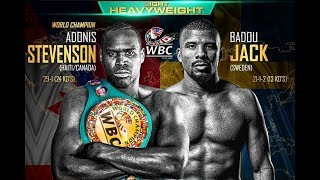 Next Day - Adonis Stevenson Vs Badou Jack Post fight reaction, Selby V Warrington, Ohara Davies