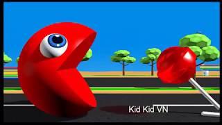 Pacman Kiếm Ăn-Nhạc Thiếu Nhi Vui Nhộn-Giúp Bé Học Tập