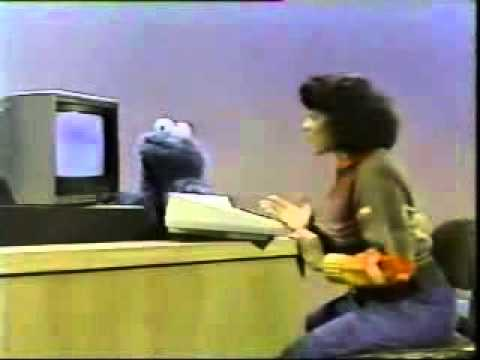 Sesame St   Cookie Monster   Computer Cookies
