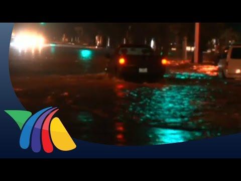Caos por lluvias en Tlaquepaque; vehículos quedan varados   Noticias de Jalisco