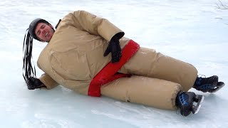 SUMO ON ICE SKATES - [Living in Alaska 120]