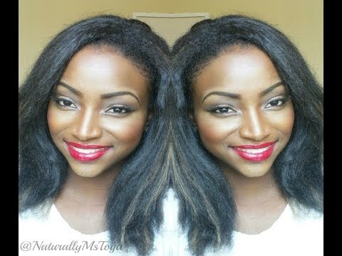 Style Straight Crochet Braids With Kanekalon Jumbo Braid Hair ...