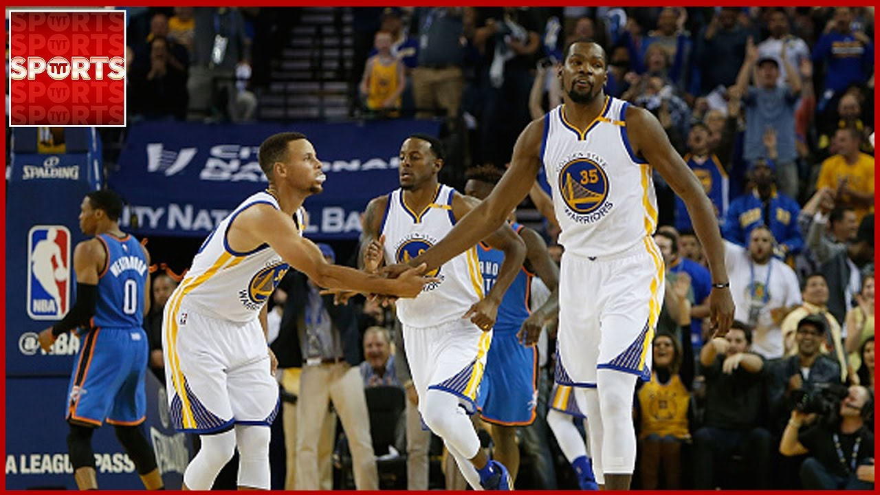 Warriors Blow Out Thunder   Curry and Durant Play PIG