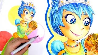 Drawing Princess Joy - INSIDE OUT [Princessify #4]