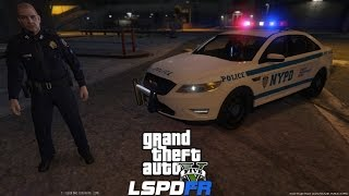 GTA 5 LSPDFR Police Mod 62 | NYPD Taurus Patrol |Crazy Car Chase With NY State Troopers Backing MeUp