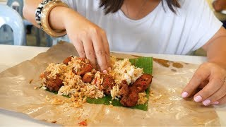 Mouthwatering MALAY FOOD in MALAYSIA- Nasi Manggey | Food and Travel Channel | Selangor, Malaysia
