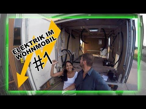 Stromversorgung | Elektrik im Wohnmobil #1 Mercedes Benz LPL 813 theskinmap