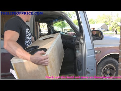 SUNDOWN ZV4 12 BOX TO BIG TO FIT?!?!  WORK TRUCK BOX BUILD VID 6