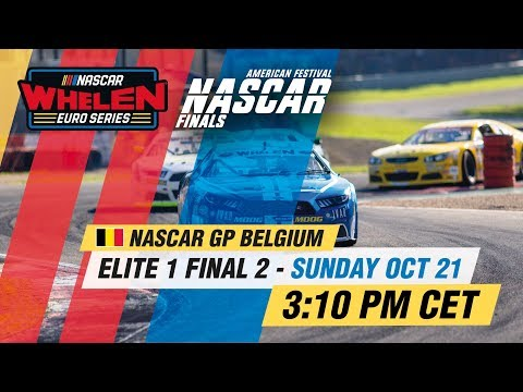ELITE 1 Final 2 | NASCAR GP BELGIUM 2018