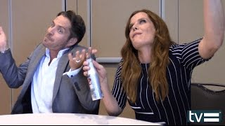 Sean Maguire & Rebecca Mader Interview - Once Upon a Time Season 5