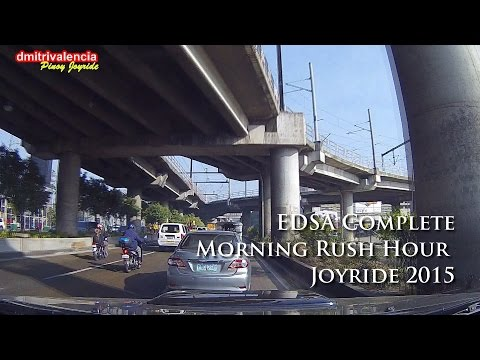 Pinoy Joyride - EDSA Complete Morning Rush Hour Joyride