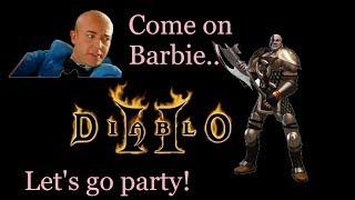 Diablo 2 LoD - Single Player -Barbarian Progress🌜🍸  10-12-2018
