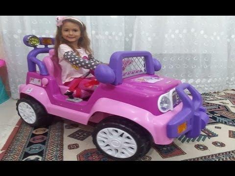 Elife 200.000 abone hediyesi princess jeep , eğlenceli çocuk videosu