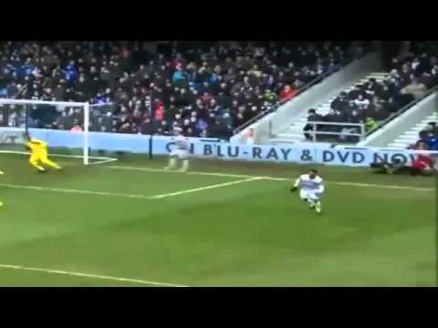 Better angle _ Robin Van Persie bad injury Manchester United v QPR 2013 (23_02_2013)