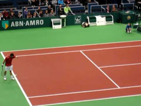 ABN-AMRO wtt 1st round --- Janko Tipsarevic (SER) - Florian Mayer (DUI) Video