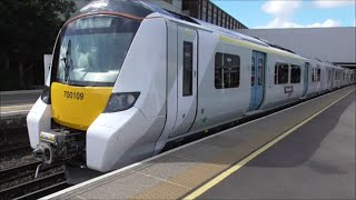*Brand New* Thameslink Class 700 | Onboard footage - St. Pancras to Gatwick Airport