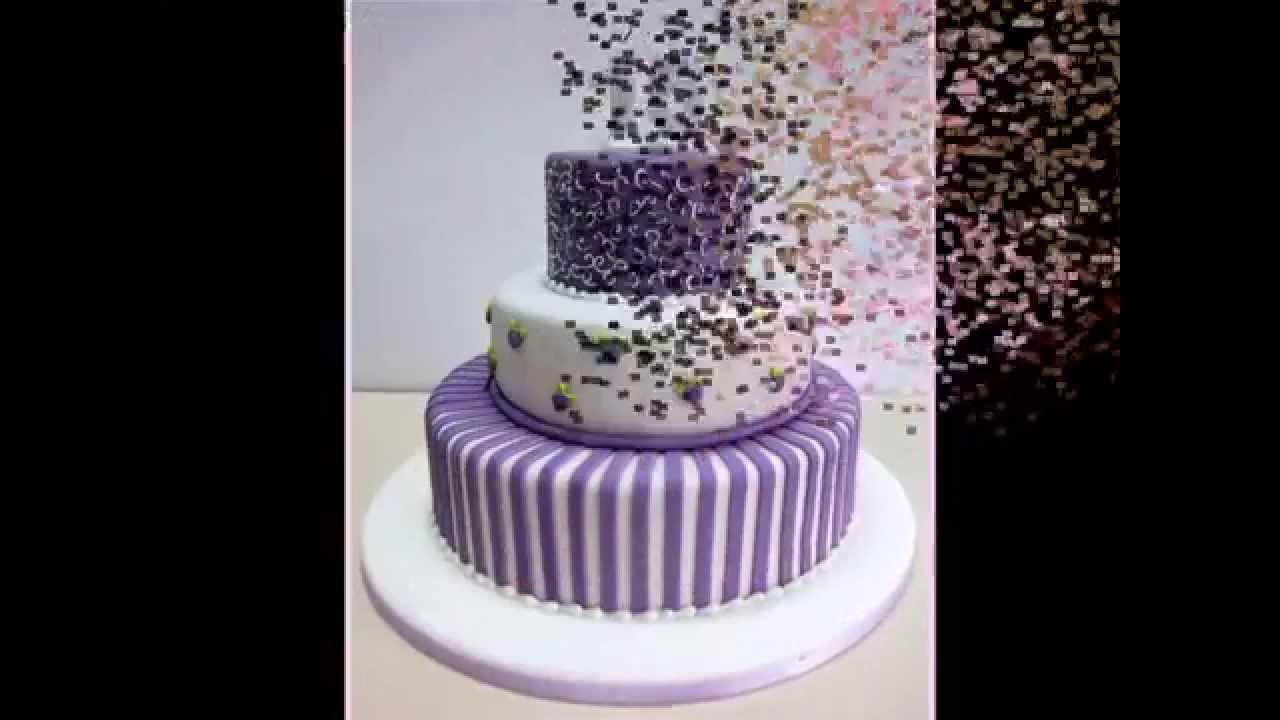 Tortas modernas para fiestas de 15 a os youtube for Decoraciones para 15 anos modernas