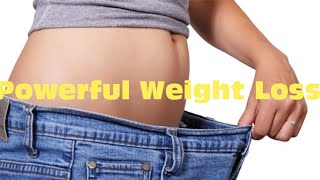 The Most Powerful Weight Loss Subliminal + Binaural Beats