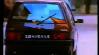 Spot Lancia-Autobianchi Y10 Avenue 1992 (Francia)