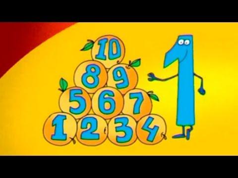 Развивающие мультфильмы - Учимся считать