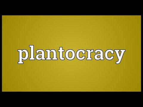 Header of plantocracy