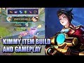 KIMMY ITEM BUILD AND GAMEPLAY MOBILE LEGENDS thumbnail