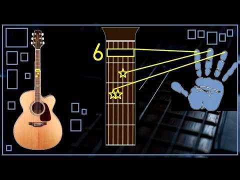 JUL - MON AMOUR (Comment Jouer A La Guitare, Accords, Tuto)