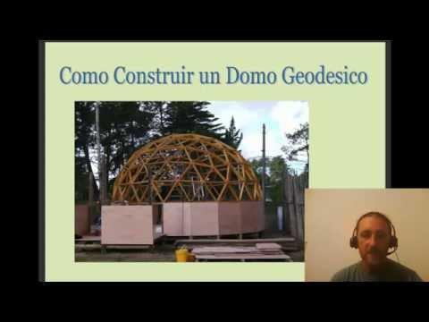 Manual para construir un domo geodesico