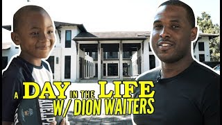 """Allen Iverson Inspired That DOG In Me"" Dion Waiters Is LOCKED IN! Day In The Life In Miami!"