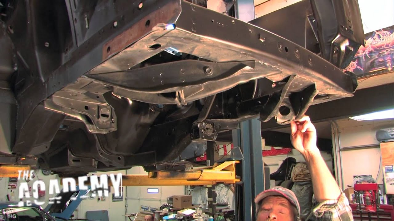 1969 Gt Mustang Convertible Grafting Shock Towers Youtube