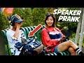 MALU HAHA! Denger Lagu Pake HEADPHONE EH NYAMBUNGNYA KE SPEAKER - WKWK | SPEAKER PRANK 2