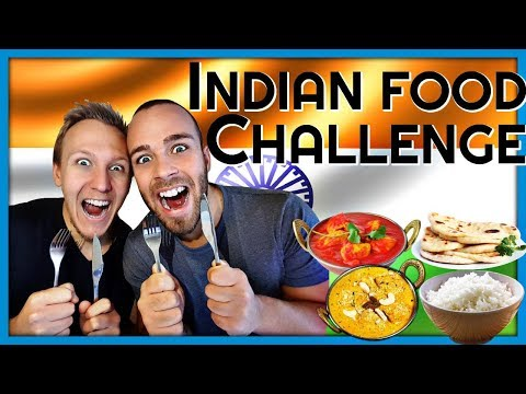 download lagu Indian Food Challenge - First Time Trying By Robin gratis