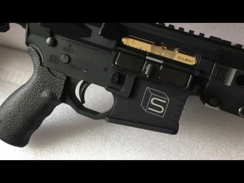 The SAI GRY M4 Airsoft GBB Rifle By G&P - Unboxing Video By Wings Li HDTV HD