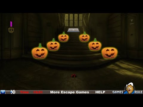 Halloween Creepy Castle Escape walkthrough Games2Rule.