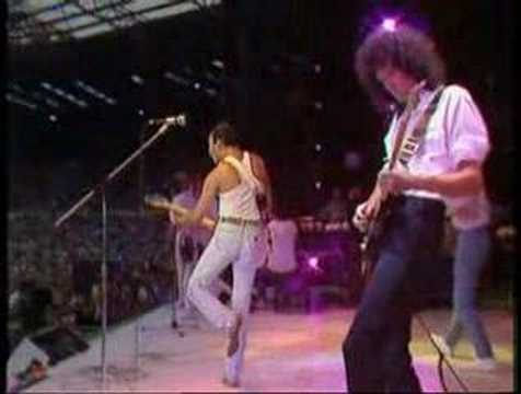 Crazy Little Thing Called Love (queen At Live Aid) video