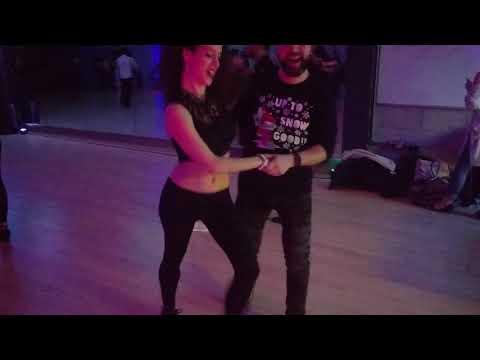 V9 UKDC DJ-KAKAH XMAS Social Dance Party ~ video by Zouk Soul