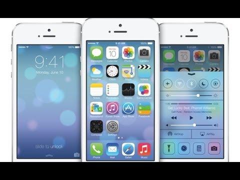تحديث الايفون او الايباد او الايبود الى الاصدار الجديد 7.0.4 HOW TO UPGRADE TO iOS