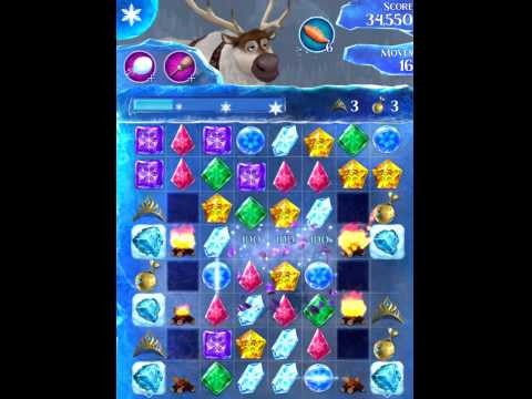 Disney Frozen Free Fall Level 240