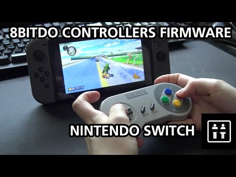 8Bitdo Controllers Work On The Nintendo Switch!