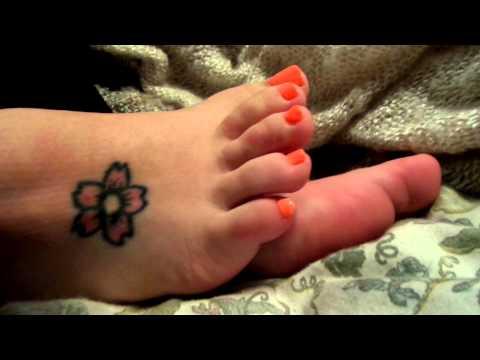 orange toes