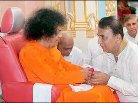 Sunil Gavaskar speaks on Sathya Sai Baba