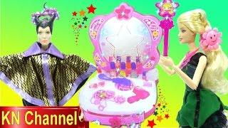 Đồ chơi trẻ em GƯƠNG THẦN TRONG TRUYỆN CỔ TÍCH | MAGIC MIRROR WITH BARBIE DOLL