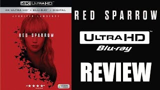 RED SPARROW 4K Bluray Review