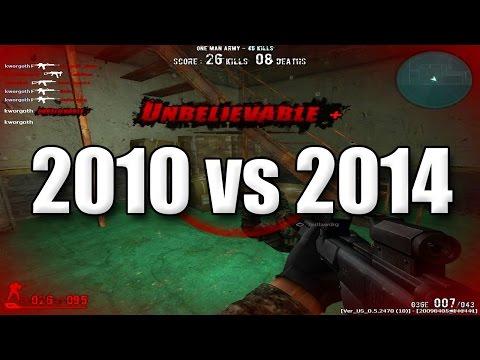 Combat Arms - 2010 vs 2014!