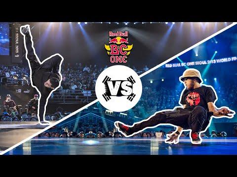 Mounir vs Lilou - Semi Finals - Red Bull BC One World Final 2013 Seoul